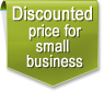 Discounted price for small business