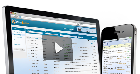 Video - issue tracking and help desk management with IssueBurner desktop and mobile version